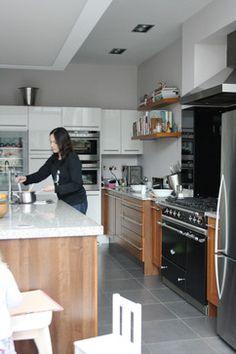 Two Tone Modern Kitchen...Libby