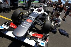Valencia - Sauber on the grid Formula 1™ - The Official F1™ Website