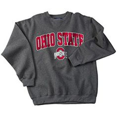 Compare prices on Ohio State Buckeyes Sweatshirts from top sports apparel retailers. Save money when buying sports-team sweatshirts. College Wear, College Outfits, Ohio State Buckeyes, Ohio State University, Sweatshirt Outfit, Crew Neck Sweatshirt, Sport Outfits, Cute Outfits, Sweatshirts