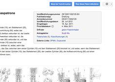 Eine wohl etwas selten benutzte Suche die Google anbietet, dürfte die nach Patenten sein. Seit letztem Jahr findet man dort den Prior Art F...
