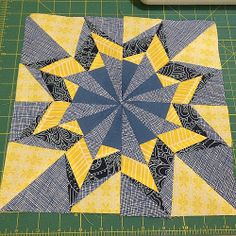 #january #xdattax #quilting #paperpiecing #bom #luckystars January's 12 incher. So. I've only got 5 more to do before April comes and drops two more in my lap.
