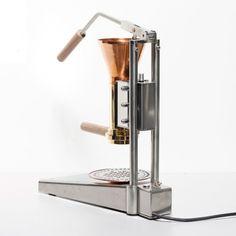 strietman espresso lever Hand-Made Espresso by Wouter Strietman, graduated 2011, department Man and Leisure