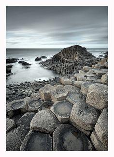 View On Black Giant's Causeway - Northern Ireland Photo by Pawel Klarecki