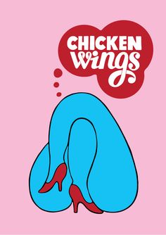 Chicken Wings  Original Logo by Parra 29/09/2012