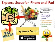 Home (Expense Scout : Shopping (Grocery) List, Budget & Bill Reminder App for iPhone & iPad)