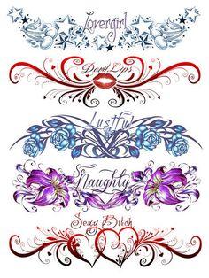 Nice >> So Naughty Tattoos (5 Tattoos)