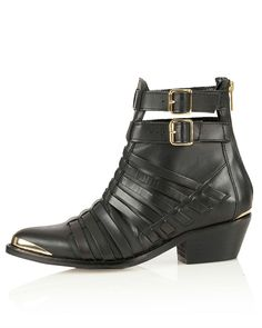 Want: A Pair Of Seriously Edgy Ankle Boots To Carry Us Through Spring