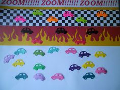 Ready Set Go 50 Assorted Colored Cars by ang744 on Etsy, $2.00