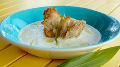 Suppe på poteter og purreløk – vichyssoise