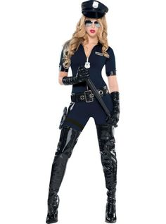 Stop Traffic Sexy Cop Costume for Women - Party City 49.99