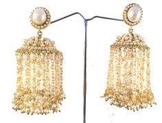 Purple gold jhumka Earrings,Turkish filigree earrings,Victorian ...