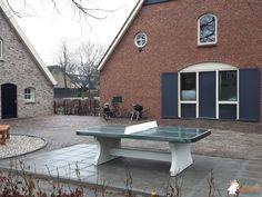Pingpongtafel Afgerond Groen bij Stichting Grasboom Leusden in Leusden