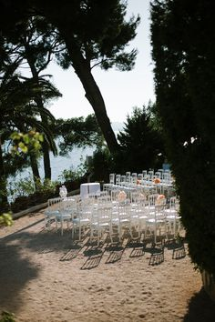 Wedding ceremony outdoor, Residence Cap Brun, front of the sea www.mariagedanslair.com