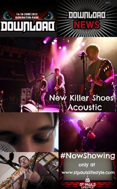 "As New Killer Shoes announce their Download slot we release their next film ""I know you want it"", from their St Pauls Lifestyle studio session. http://www.stpaulslifestyle.com/articles/2013/06/05/new-killer-shoes-i-know-you-want-it/ #nks #new killer shoes #session #acoustic  #St Pauls Lifestyle #band #iknowyouwant t #newkillershoes #nksband #newkillershoesband #download #downloadfestival"