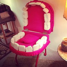 The perfect dental office waiting room chair!