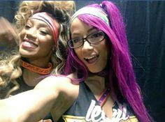 The BO$$ Sasha Banks & Miss Foxxy Alicia Fox: Foxxy Bosses would be a cool tag team!