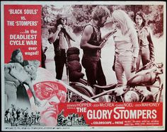 The Glory Stompers - 1967 Dennis Hopper & Casey Kasem Horror Movie Characters, Cult Movies, Action Movies, Movie Poster Art, Film Posters, Biker Movies, Vintage Biker, Marvel Comic Character, Movies