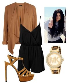 Untitled #111 by h-akther on Polyvore featuring NLY Trend, Yves Saint Laurent, Michael Kors and Topshop