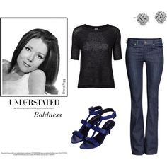A fashion look from May 2014 featuring sleeve top, boot cut jeans und Topshop. Browse and shop related looks.