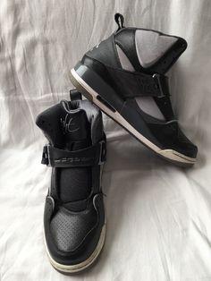 Air Jordan Flight 45 Black Grey White Nike Basketball Shoes Size 10 5 Men'S | eBay