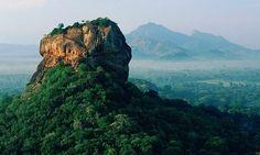 brooding monolith of Sigiriya