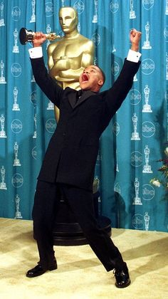 "wins Best Supporting Actor for his role in ""Jerry Maguire."" This is truly emotional he was even jumping up and down, on stage Academy Award Winners, Academy Awards, Inside The Actors Studio, Jerry Maguire, Oscar Wins, Oscar Night, Reading Corners, Oscar Fashion, Actor Studio"