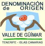 D.O. Valle de Güimar - Zona: Valle de Güímar, sureste de Tenerife (Islas Canarias) - Variedades tintas: Listán negro, negramoll, moscatel negro, malvasía rosada, bastardo negro y vijariego negro - Variedades blancas: Listán blanco, gual, malvasía, verdello, moscatel y vijariego.