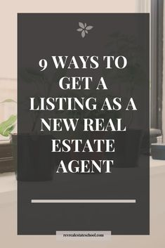9 Ways to Get a Listing as a New Real Estate Agent — Rev Real Estate School - Real Estate and. 9 Ways to Get a Listing as a New Real Estate Agent — Rev Real Estate School - Real Estate and Realtor Marketing - Real Estate School, Real Estate Career, Real Estate Leads, Selling Real Estate, Real Estate Tips, Real Estate Investing, Real Estate Broker, Real Estate Business Plan, Real Estate Agents