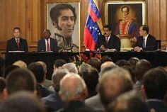 Presidente Maduro hizo un llamado a diálogo a los empresarios de la Patria