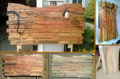 Who would have thought that this headboard is made from repurposed pallets! Learn how it's made by viewing the full album of the project at http://theownerbuildernetwork.co/i812 What projects have you done where you've used old pallets?