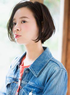 【ボブ】大人シルエット美人ボブ/aRietta【アリエッタ】の髪型・ヘアスタイル・ヘアカタログ|2016春夏