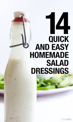 Try some of these lightened up salad dressings.