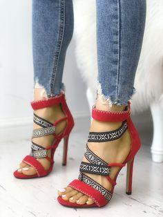 Just My Tribe Sexy Heels, Stiletto Heels, Shoes Heels, Heeled Sandals, Buy Shoes, Stilettos, Shoes Sneakers, Black High Heels, Fashion Heels