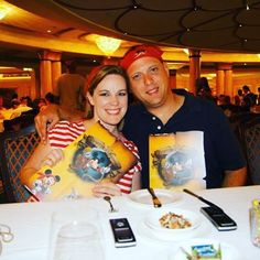 Not much compares to Pirate Night with @disneycruiseline #specialneeds #family #vacation #terminallyill #cruising #disney #disneysea #fun #picoftheday #selfie #husband