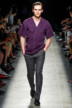 Bottega Veneta Spring 2014 Menswear Collection Slideshow on Style.com