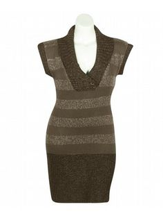 Cute Sweater dress would be perfect with leggings and a cute pair of boots