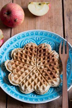 Breifrei Rezepte Apfelwaffeln ohne Zucker für Kinder