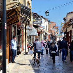 Old #Bazaar, #Skopje, #Macedonia Photo: Paul Whitmore #BalkansTravelwithMIR #balkanstravel #balkanstourism #visitmacedonia #macedoniatourism #visitskopje #ilovebalkans #travel #tourism #market #localculture #citylife #wanderlust #worlderlust #beautifuldestinations #seetheworld #instapassport #travelgram #wanderlustwednesday #adventure