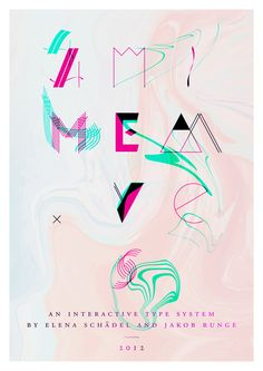 MeM  is an eccentric experimental type system created by Elena Schädel and Jakob Runge