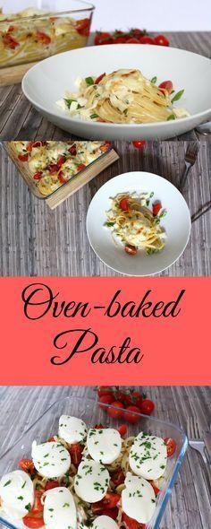 Überbackene Nudelnester von Maria! #Pasta #Nudel #Veggie