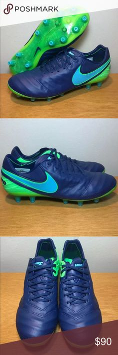 f21f07c933 Shop Men s Nike Blue Green size Sneakers at a discounted price at Poshmark.  Description  New without box- Men s Nike Tiempo Legend VI AG Pro Soccer  Cleats ...