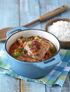 Home-Style Chicken Stew: nine ingredients; minimum fuss! Lovely for a mid-week family meal. #Knorr
