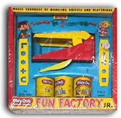 """PLAY DOH FUN FACTORY"". I don't know onw kid who didn't play with play doh!!..."