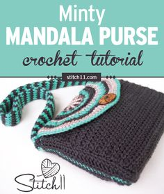 Check out this fun Bohemian style mandala purse crochet pattern. You'll never need to buy a purse or bag ever again. it would be a perfect gift for someone you love because it's beautiful and at the same time pretty easy to make. #crochet #crochetlove #crochetlife #crochetaddict #crochetpattern #crochetbag #ilovecrochet #crochetgifts #crochetpurse #addictedtocrochet #yarnaddict #yarnlove