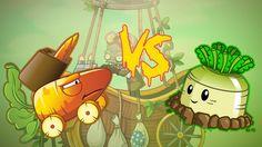 Plants vs Zombies 2 Hack: Carrot Missile Truck vs Mischief Radish (Pvz 2...
