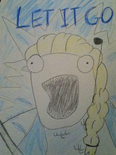 Let it go Meme by Faith Carpenter