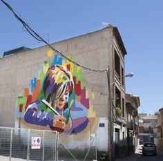 "Mural ""El sol volverá a brillar"" http://www.elartistaylaprincesa.com/"