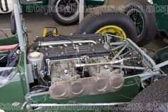 1960 Lotus 18 Formula 1 #372 Coventry Climax FPF engine