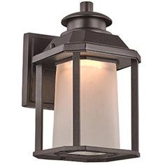 Check out the Trans Globe Lighting LED-40930 1 Light LED Seeded House Outdoor Wall Sconce priced at $65.17 at Homeclick.com.