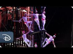 Take flight: Experience La Nouba from the trapeze artists' point of view. | La Nouba by Cirque du Soleil